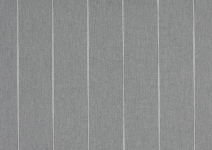 Toile de store banne Dickson rayures col naples gris (Gris)