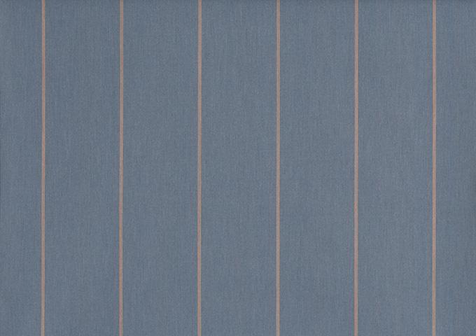 Toile de store banne Dickson col nable gris bleu (Bleu / Gris)