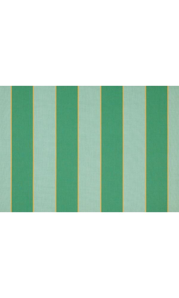 Toile de store banne Dickson col rayure sienne vert