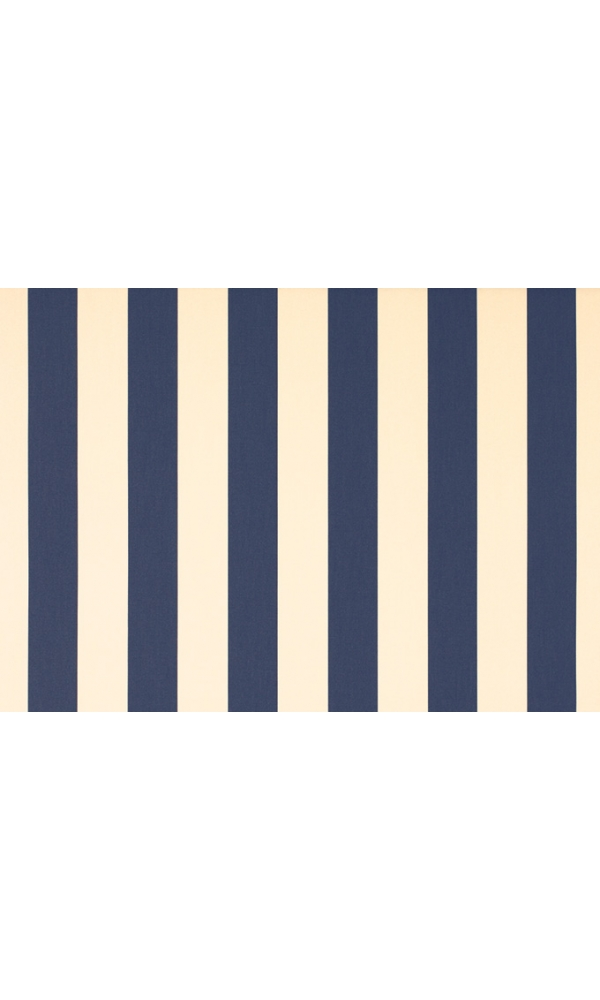 Toile de store banne Dickson rayures col crème/marine (Marine)