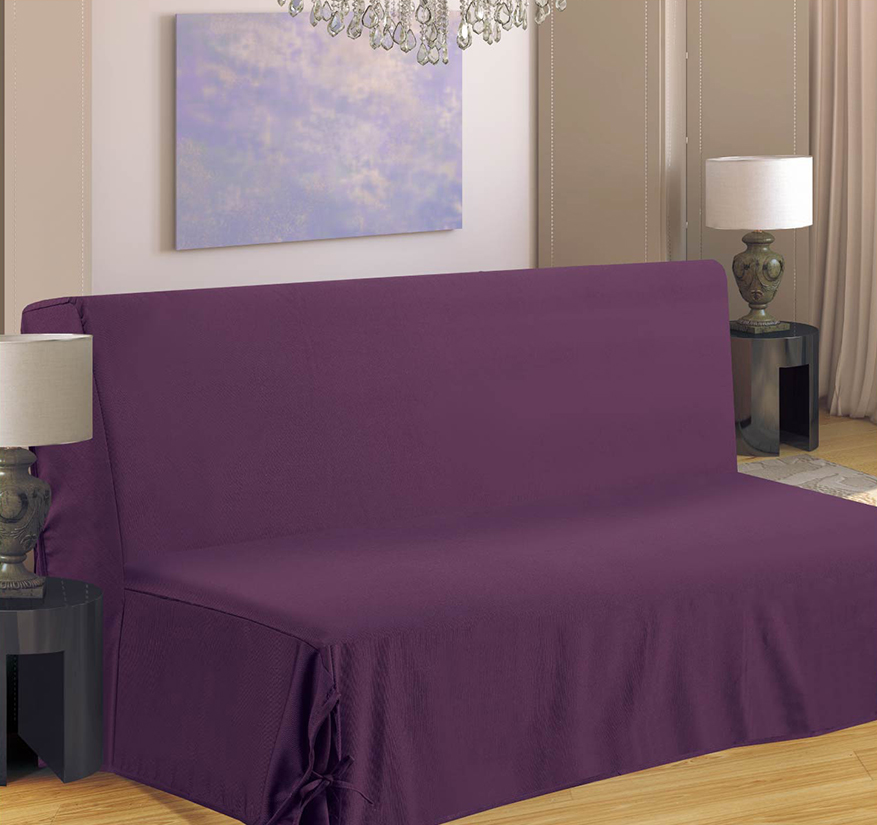 housse de canap pour bz violet noir bordeaux beige taupe gris chocolat. Black Bedroom Furniture Sets. Home Design Ideas