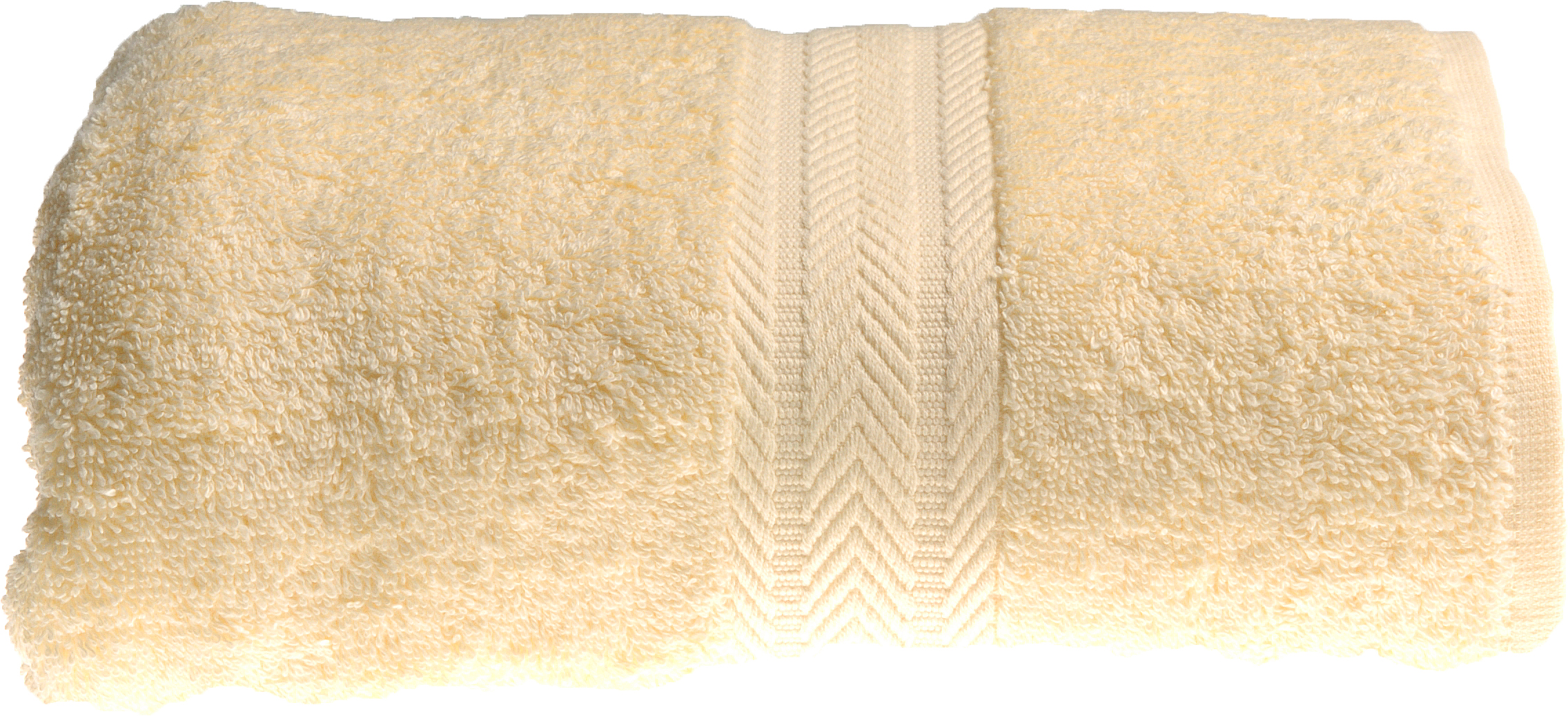 Drap de bain 100 x 150 cm en Coton couleur Jaune (Jaune)