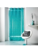 Voilage oeillets 140x240 LULU WORD  Turquoise