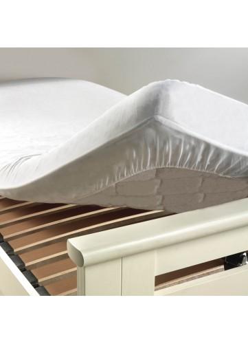 Protège matelas molleton et anti acarien Molly - Blanc - 90 x 190 cm