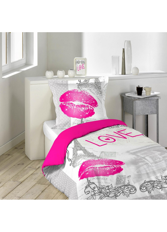Parure de lit imprimée