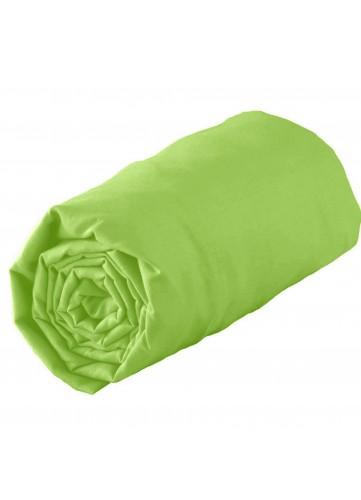 Drap housse uni en jersey 140 x 190 cm Jersey - Vert - 140 x 190 cm