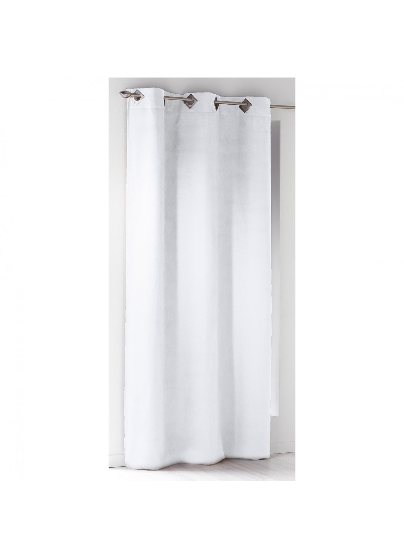 rideau oeillets carr s en su dine blanc fauve gris clair rouge rose ciel. Black Bedroom Furniture Sets. Home Design Ideas