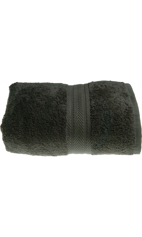 Drap de bain 100 x 150 cm en Coton couleur Anthracite - Anthracite - 100x150 cm