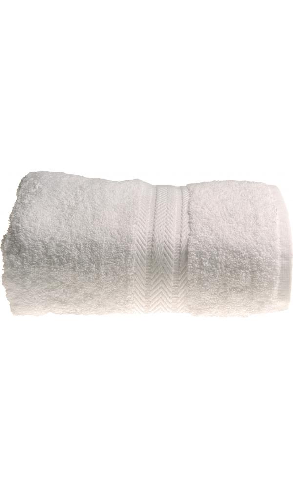 Drap de bain 100 x 150 cm en Coton couleur Blanc