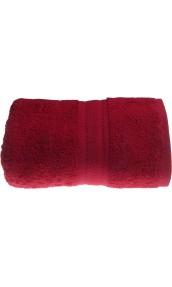 Drap de bain 100 x 150 cm en Coton couleur Fushia