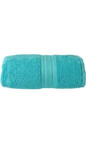 Drap de douche 70 x 140 cm en Coton couleur Bleu turquoise