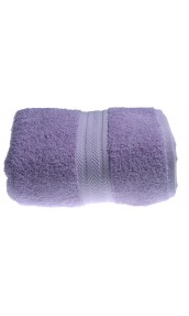 Drap de douche 70 x 140 cm en Coton couleur Parme