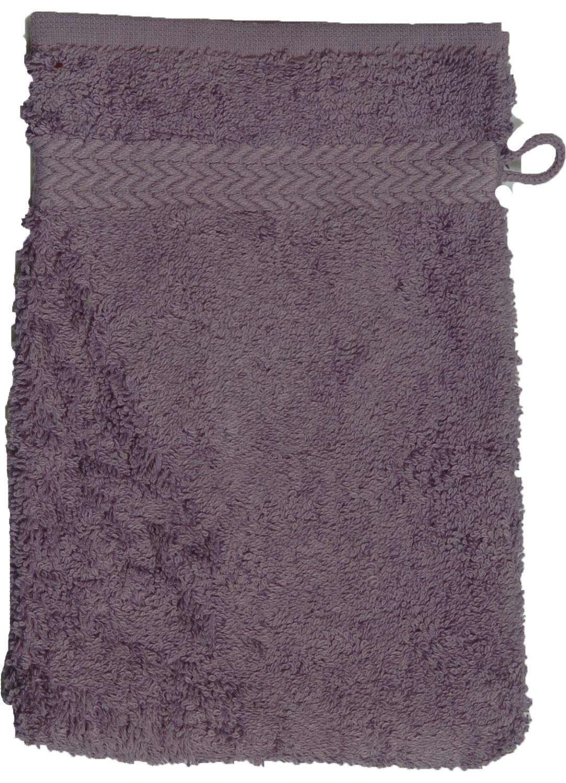 Gant de toilette 16 x 22 cm en Coton couleur Corail (Corail)