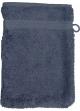 Gant de toilette 16 x 22 cm en Coton couleur Bleu jean Bleu Jean