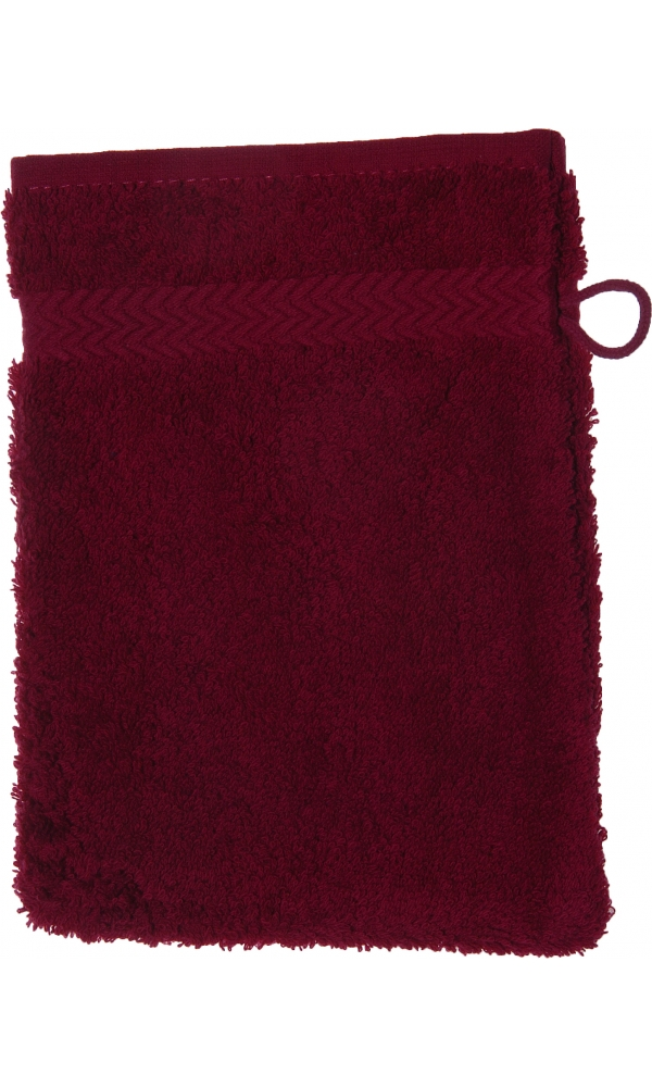 Gant de toilette 16 x 22 cm en Coton couleur Fushia (FUSHIA)