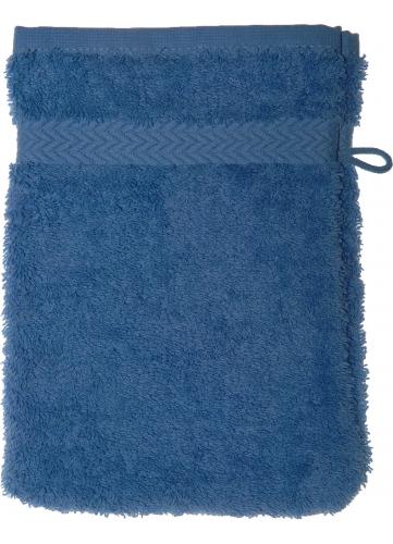 Gant de toilette 16 x 22 cm en Coton couleur Lavande