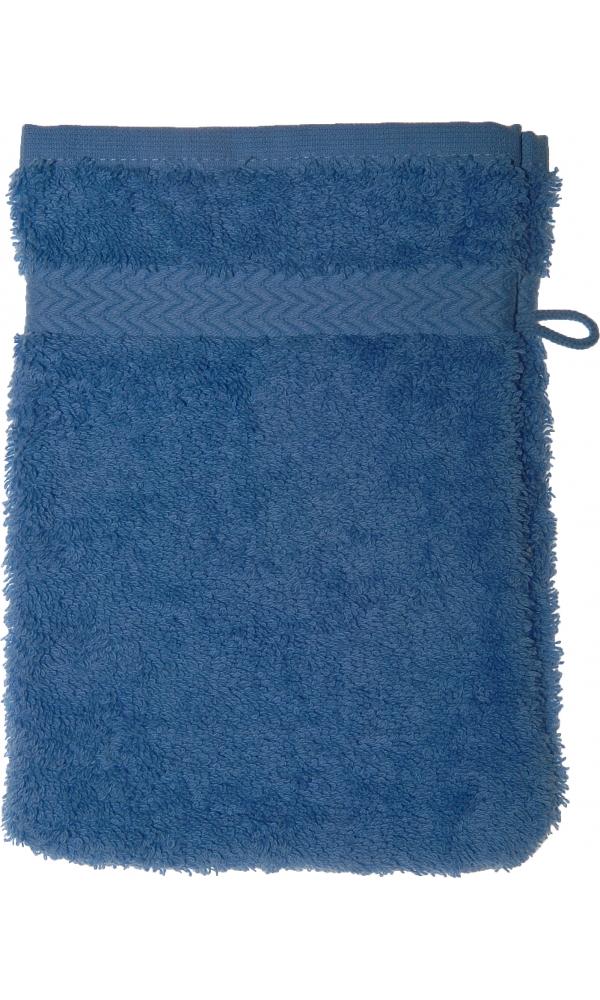 Gant de toilette 16 x 22 cm en Coton couleur Lavande (Lavande)