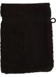 Gant de toilette 16 x 22 cm en Coton couleur Noir Noir