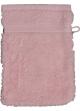 Gant de toilette 16 x 22 cm en Coton couleur Rose Rose