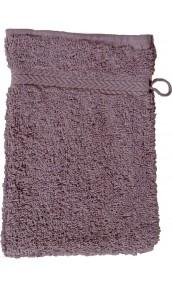 Gant de toilette 16 x 22 cm en Coton couleur Silver grey