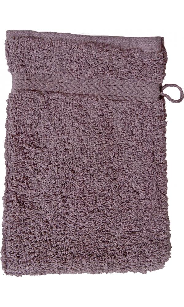 Gant de toilette 16 x 22 cm en Coton couleur Silver grey (Silver Grey)