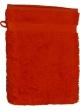 Gant de toilette 16 x 22 cm en Coton couleur Terracota Terracota