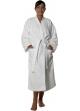 Peignoir col kimono en Coton couleur Blanc Taille XL Blanc