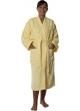 Peignoir col kimono en Coton couleur Jaune Taille L Jaune