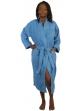 Peignoir col kimono en Coton couleur Lavande Taille L Lavande