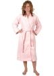 Peignoir col kimono en Coton couleur Rose Taille XL Rose