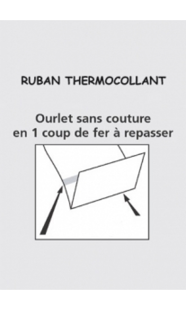 Ruban Thermocollant (TRANSPARENT)
