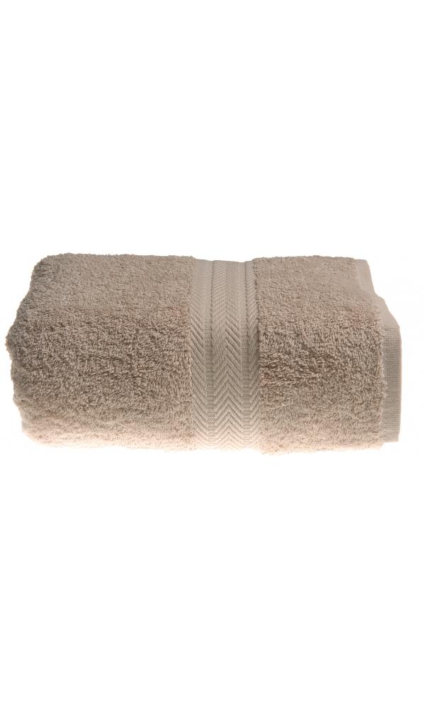 Serviette de toilette 50 x 100 cm en Coton couleur Ficelle - Ficelle - 50x100 cm