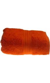 Serviette de toilette 50 x 100 cm en Coton couleur Terracota