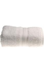 Serviette invitée 30 x 50 cm en Coton couleur Blanc