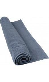 Tapis de bain 50 x 80 cm en Coton couleur Bleu jean
