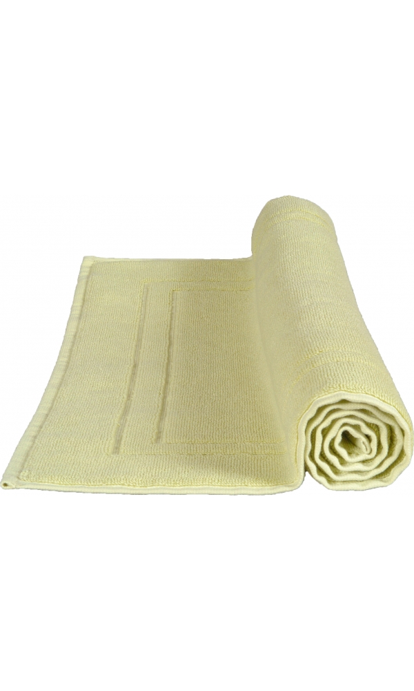 tapis de bain 50 x 80 cm en coton couleur chardonnay chardonnay homebain vente en ligne. Black Bedroom Furniture Sets. Home Design Ideas