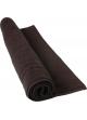 Tapis de bain 50 x 80 cm en Coton couleur Noir Noir