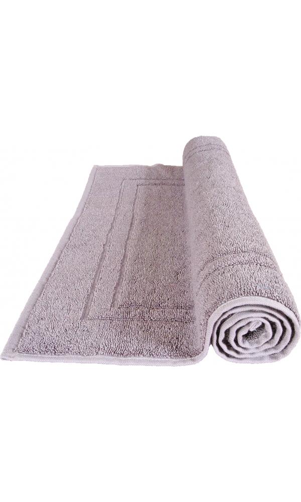 Tapis de bain 50 x 80 cm en Coton couleur Silver grey (Silver Grey)
