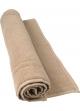 Tapis de bain 50 x 80 cm en Coton couleur Taupe Taupe