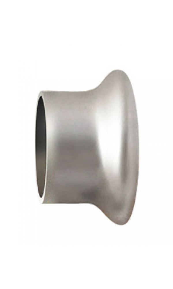 Paire d'Embouts Nickel pour barre Ø 28 mm (Nickel)