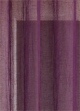 Paire voilage étamine unie froissée  Prune