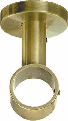 Support Plafond Doré diam 28mm (Dorée)
