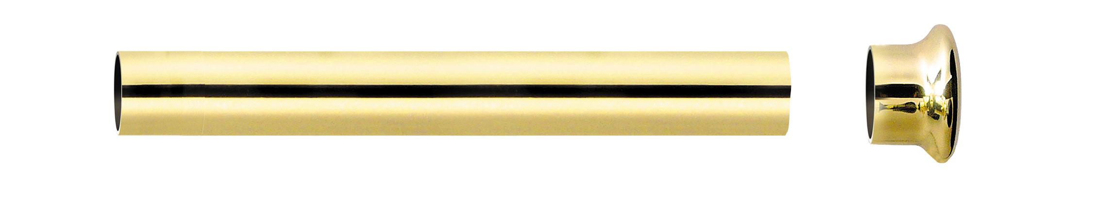 Tube Nu Doré 2 m diam 28mm (Dorée)