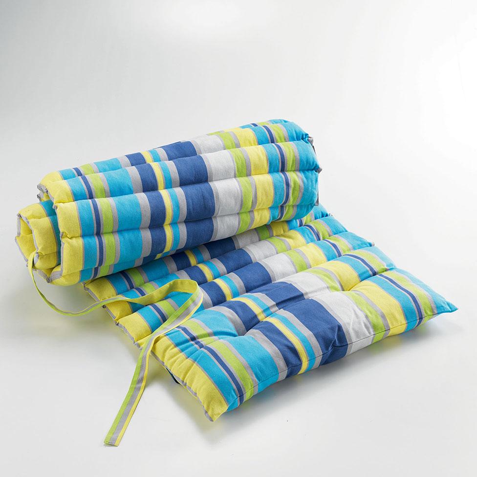 matelas bain de soleil ray bleu jaune homemaison vente en ligne matelas bain de soleil. Black Bedroom Furniture Sets. Home Design Ideas