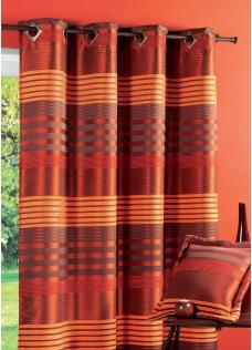 Best Rideaux Orange Et Marron Galerie - Idées décoration intérieure ...