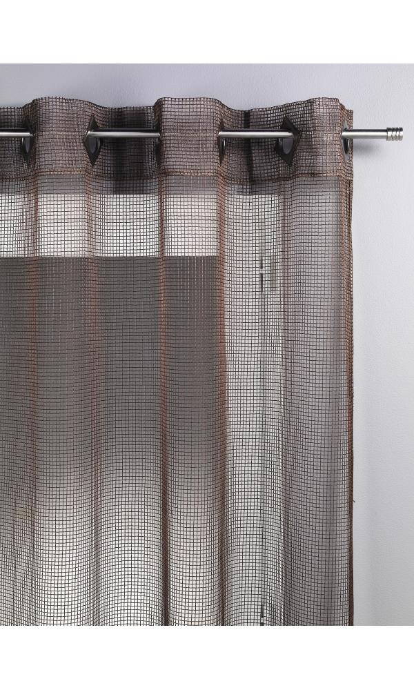 Voilage Filet - Chocolat - 140 x 260cm