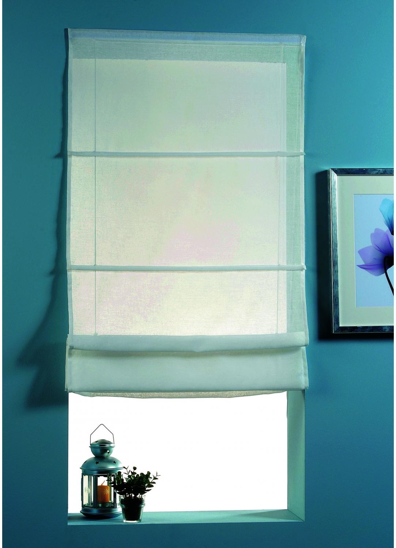store voilage en etamine unie ivoire taupe blanc. Black Bedroom Furniture Sets. Home Design Ideas