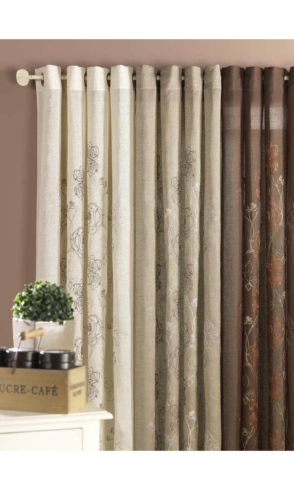voilages etamine vente en ligne de voilages etamine. Black Bedroom Furniture Sets. Home Design Ideas