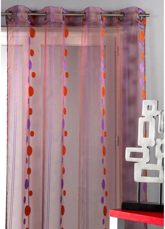 Visillo de Organza Hilos Cortados (Violeta)