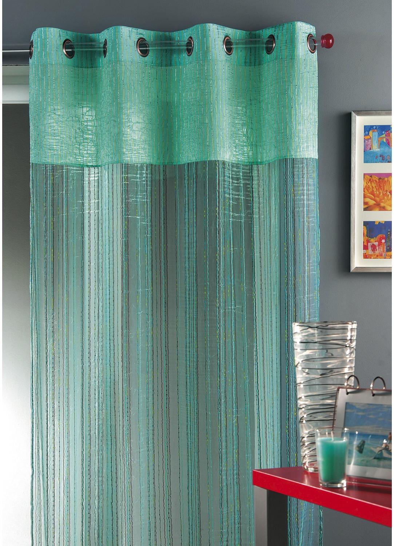 voilage turquoise tous les objets de d coration sur elle maison. Black Bedroom Furniture Sets. Home Design Ideas
